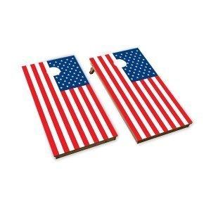 Cornhole Boards American Flag Classic